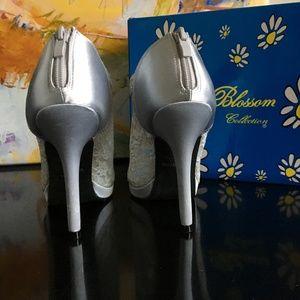 60a62022d70 De Blossom Collection Shoes - De Blossom Yael-9 Womens Wedding Bridal High  Heel